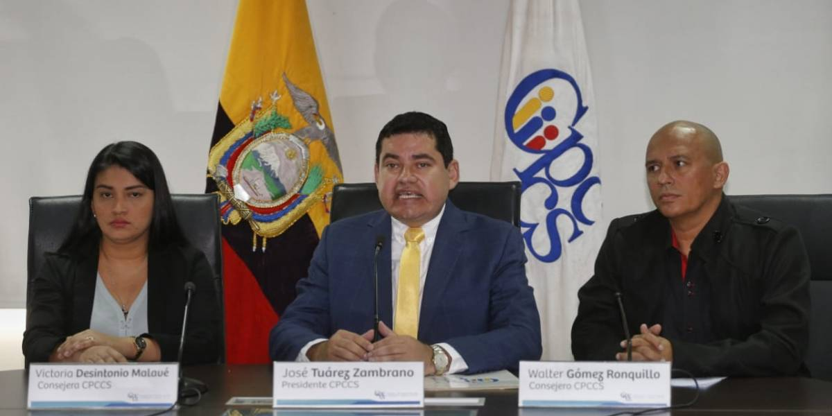 Fiscalía abrió indagación previa a cuatro integrantes del Cpccs incluyendo a José Tuárez