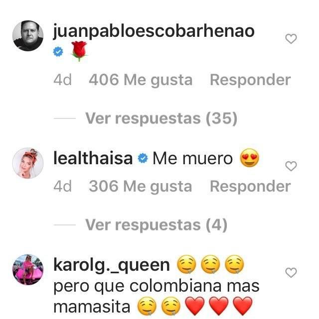 Respuesta de Pablo Escobar a Karol G