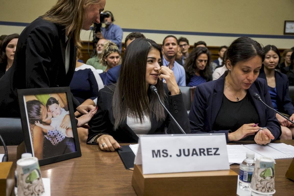 Yazmín Juárez, una guatemalteca que en 2018 perdió a su hija en un centro de migrantes en EE.UU.