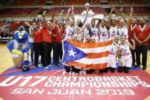 Boricuas se llevan plata en torneo Centrobasket U17