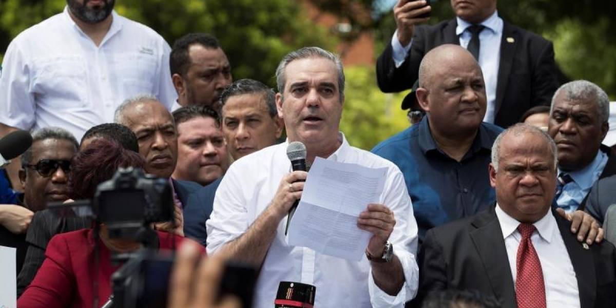 Abinader advierte de movilizaciones si se intenta reformar la Constitución