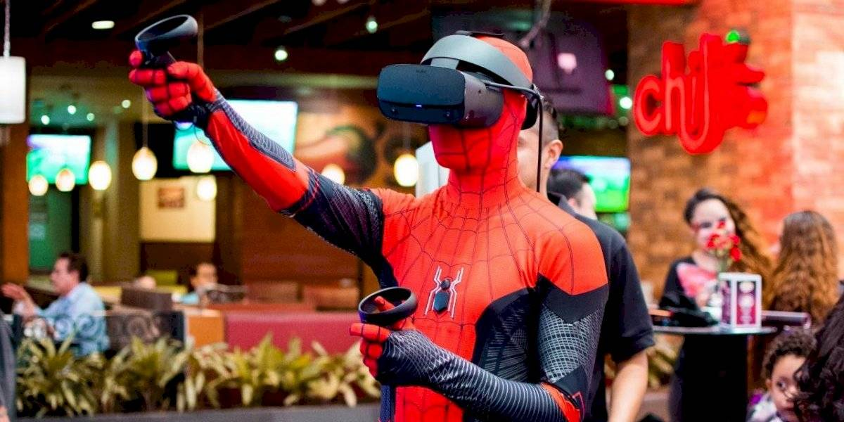 Siéntete como un verdadero Spiderman en esta nueva zona interactiva