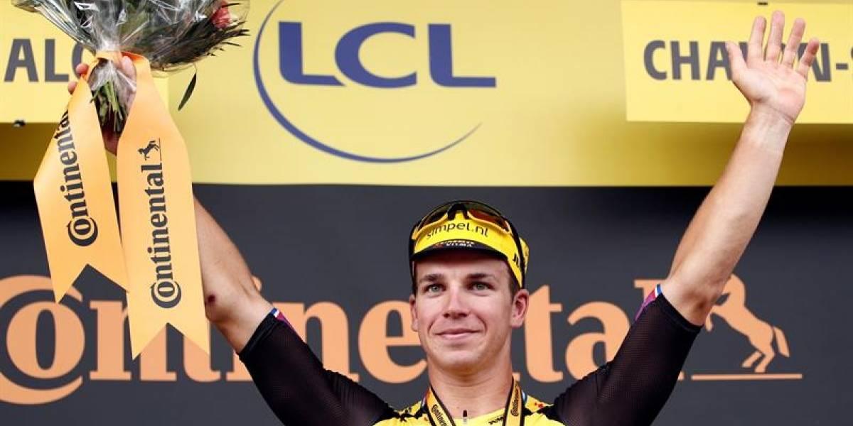 Dylan Groenewegen ganó la etapa 7 del Tour de Francia