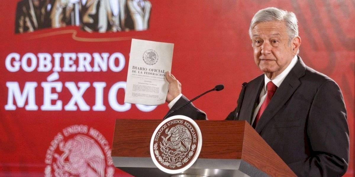 Hacienda publica decreto de aprobación del PND de AMLO