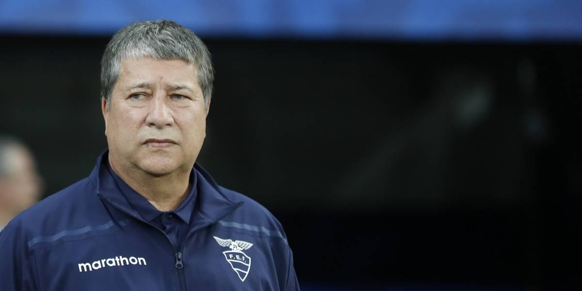 'Bolillo' Gómez dice que acatará cualquier decisión sobre su futuro en la Selección de Ecuador