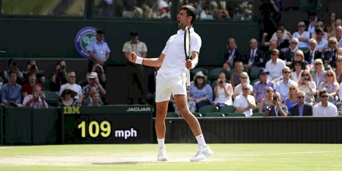 Novak Djokovic llega a la final de Wimbledon por sexta vez