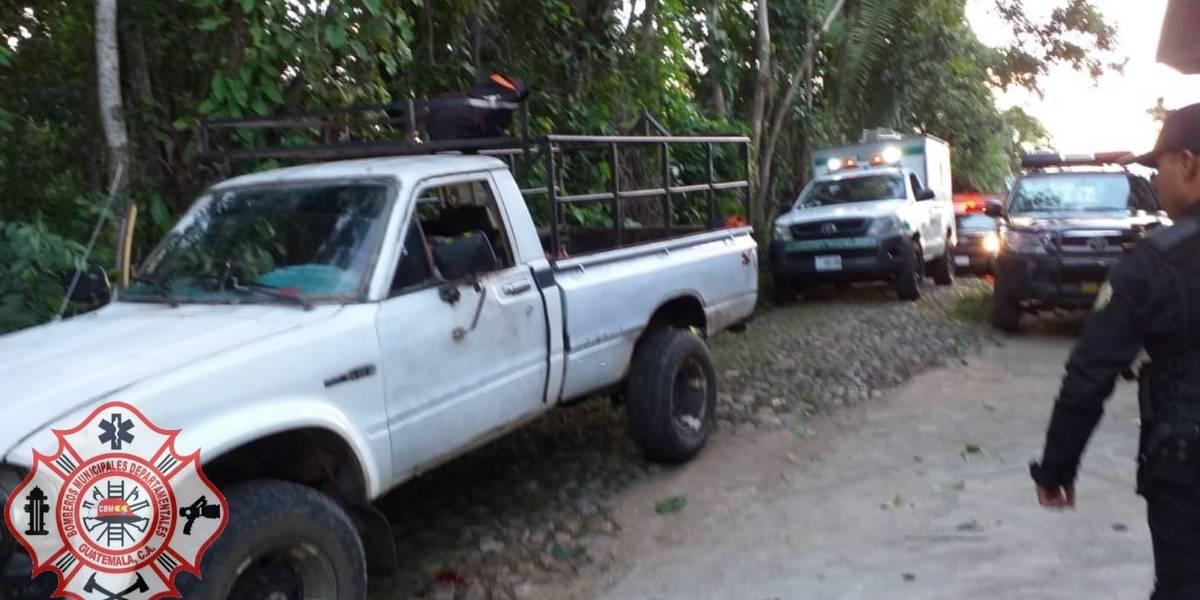 Disparan contra ocupantes de vehículo en San Marcos