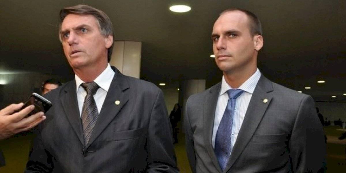 ¿Con un pituto? Bolsonaro analiza nombrar a su hijo Eduardo a cargo de la embajada de EEUU