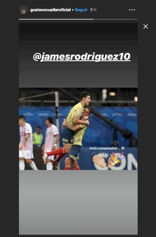 Mensajes de los jugadores de selección Colombia a James Rodríguez por su cumpleaños