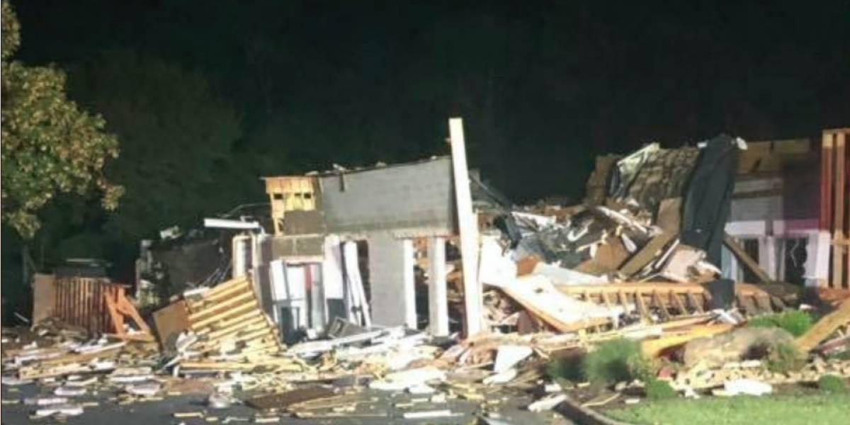 El video del momento de la explosión en restaurante de Carolina del Norte, EE.UU.