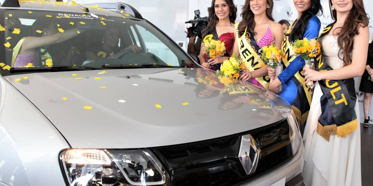 Candidatas a Miss Ecuador 2019 conocieron el Renault Duster