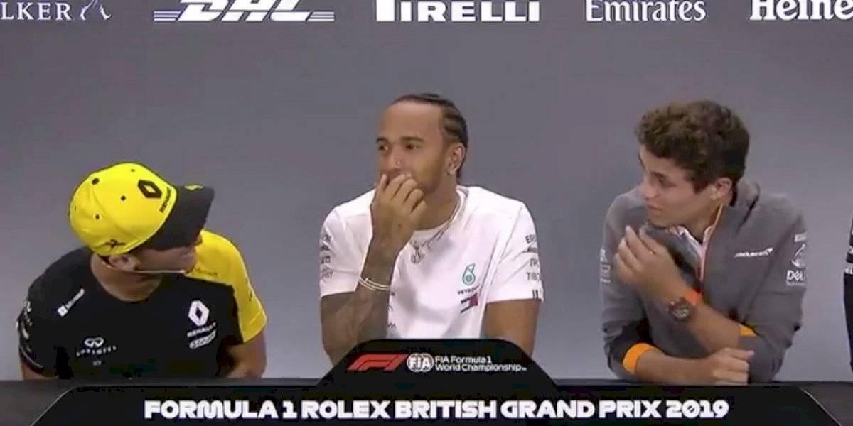 ¿Ya tienes vello púbico?, la sorprendente pregunta de Ricciardo ante la prensa