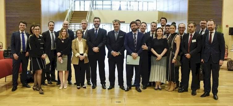 Delegação brasileira em Bruxelas para o fechamento do acordo de livre comércio entre Mercosul e União Europeia