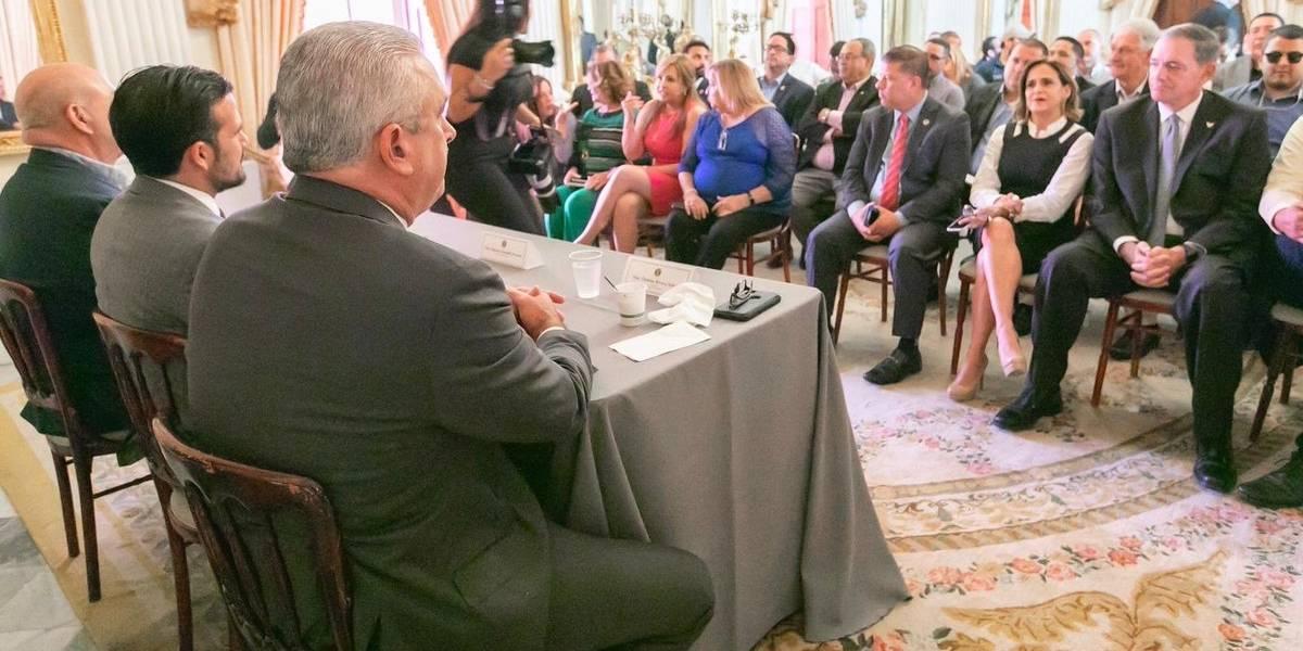 Solo tres legisladores confrontaron al Gobernador