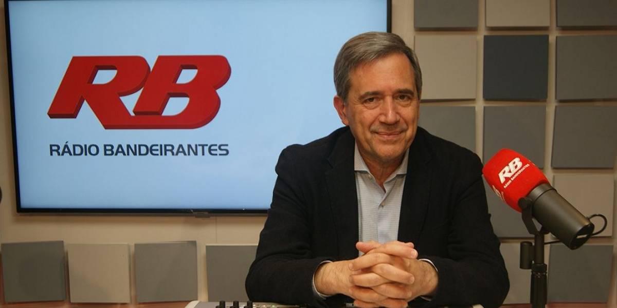 Marco Antonio Villa estreia na Rádio Bandeirantes nesta segunda-feira