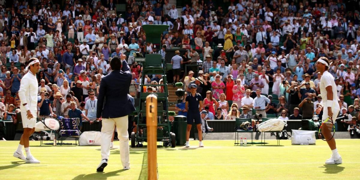 Así vivimos la épica batalla entre Roger Federer y Rafael Nadal en las semifinales de Wimbledon