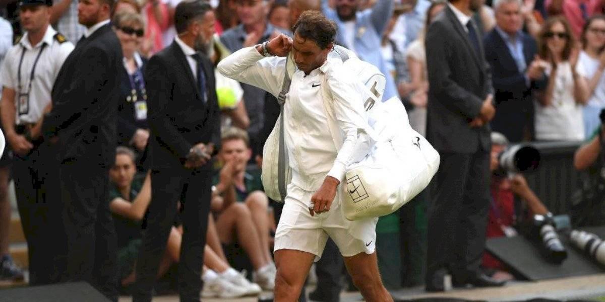"""La desazón de Nadal tras caer ante Federer: """"Las oportunidades no son para siempre y no las tomé"""""""
