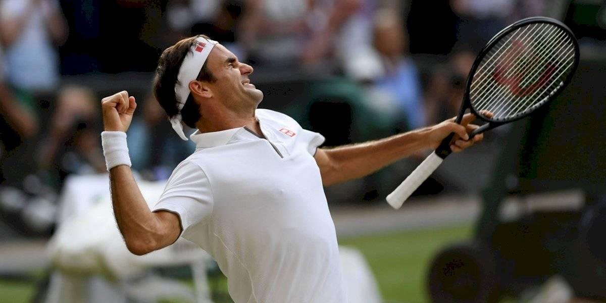¡Su Majestad! Roger Federer avanza a la final de Wimbledon