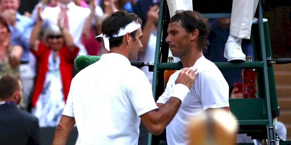Wimbledon: Las mejores postales del duelo entre Nadal y Federer