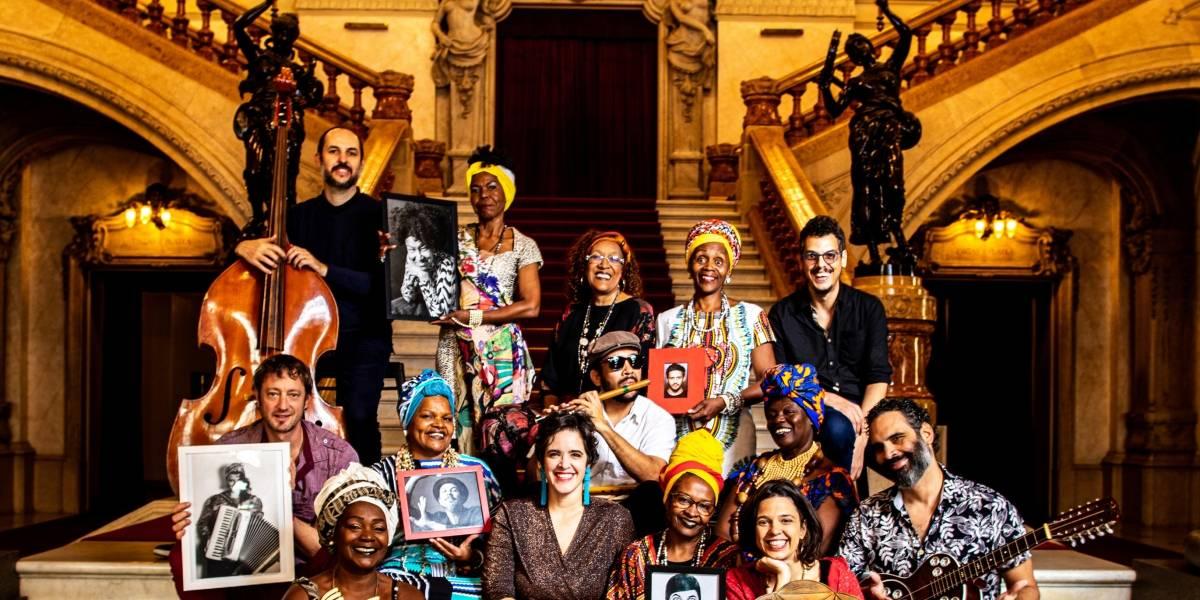 Goma-Laca valoriza discos de 78 rotações em show no Sesc Pinheiros