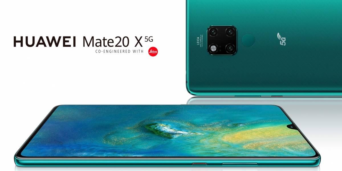 Mate 20 X 5G: Huawei va a lanzar muy pronto su primer teléfono con conectividad 5G