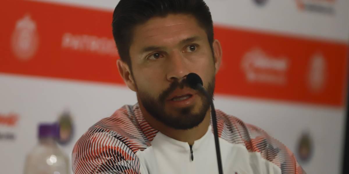 En alianza entre Caliente y Chivas, Oribe Peralta se siente mas 'vivo' que nunca