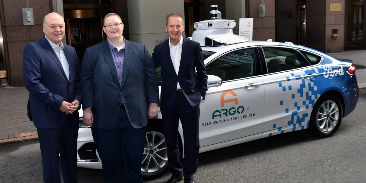VW e Ford se unem para construir carros autônomos e elétricos