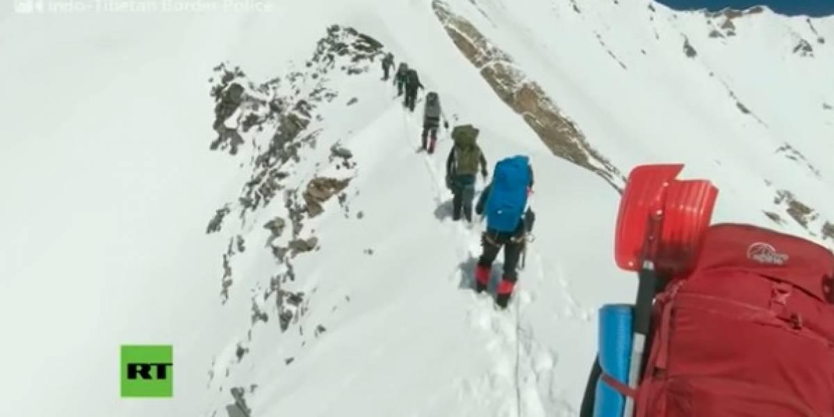 Difunden el último video de los alpinistas que murieron en el Himalaya
