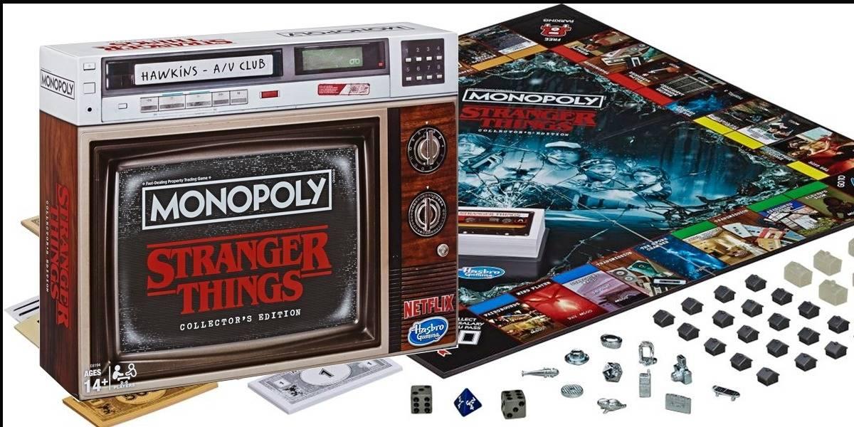 La edición de colección del Monopoly de Stranger Things es mejor que la serie