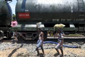Sequía ciudad india Chennai