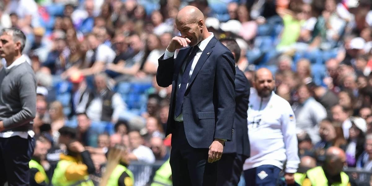 Zidane deja concentración del Madrid por una emergencia
