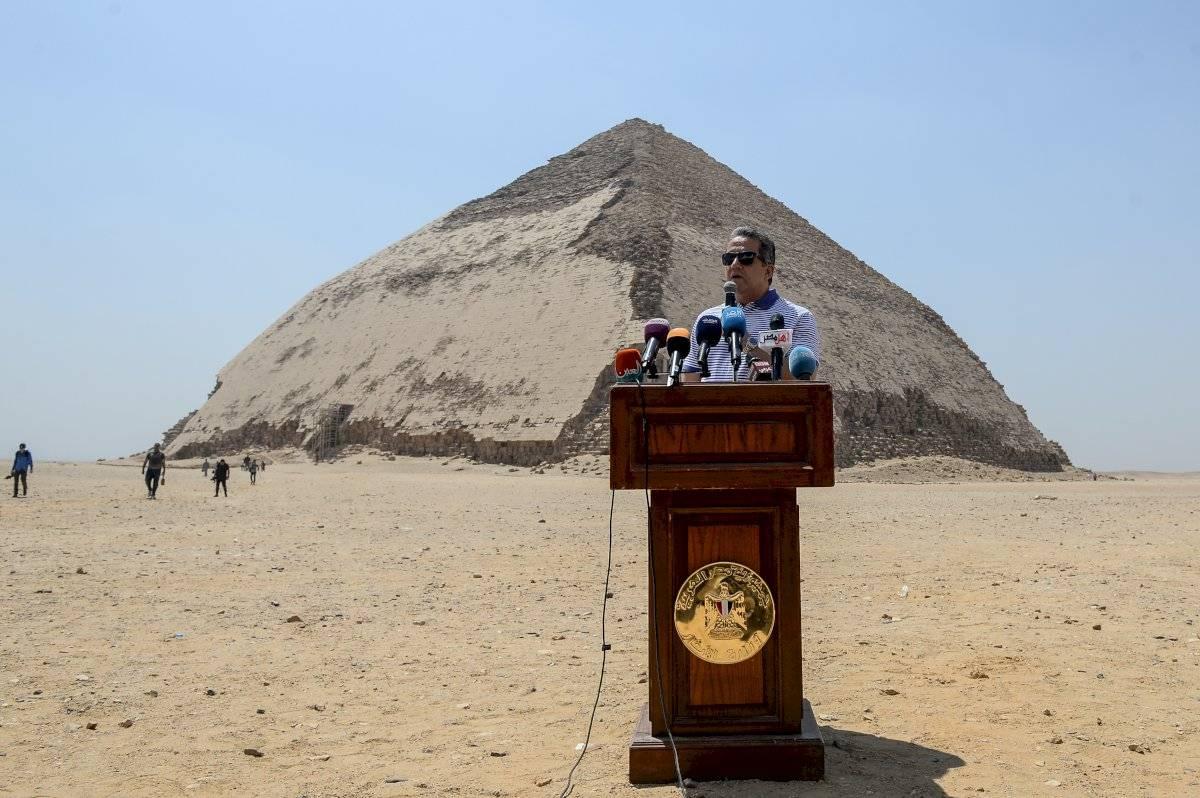 Egipto abre dos nuevas pirámides al sur de El Cairo