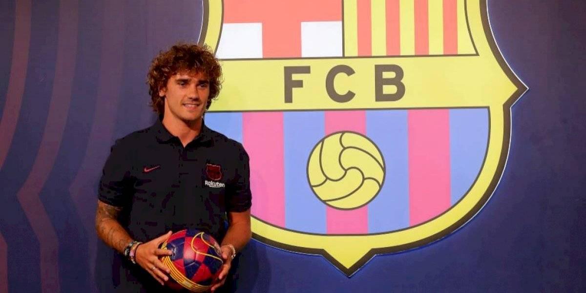 """Griezmann posó feliz con la camiseta del Barcelona. """"Estoy con mucha ilusión de trabajar con este grupo"""""""