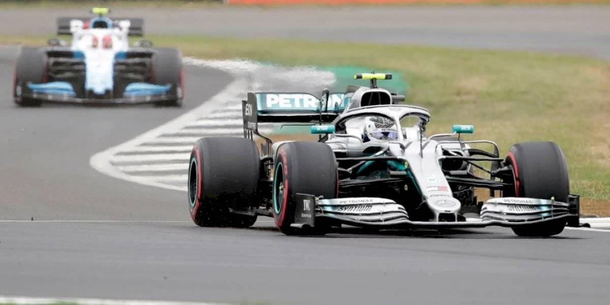 F-1: Valtteri Bottas alarga la hegemonía Mercedes y se queda con la pole position en Silverstone