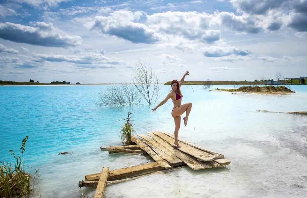 "Las ""Maldivas Siberianas"" en Rusia Foto: AP"