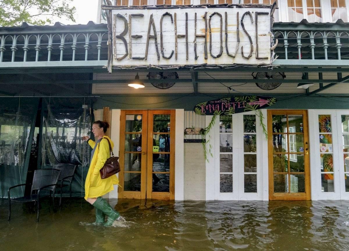 Nueva Orleans se prepara para la tormenta Barry Foto: AP