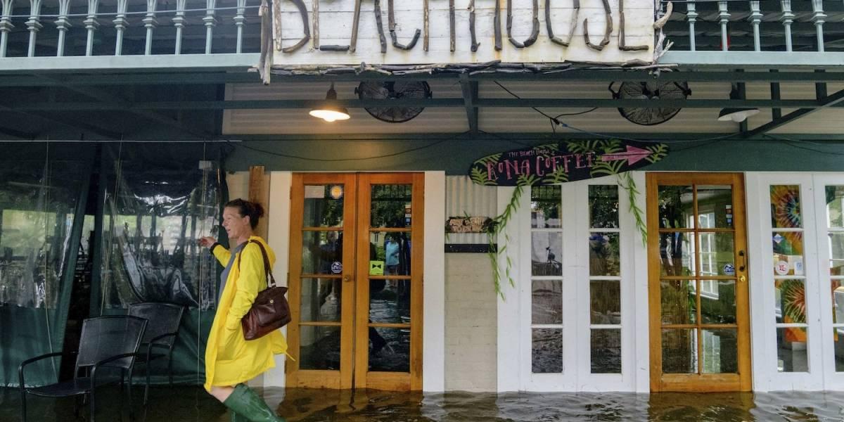 Huracán Barry llega a Nueva Orleans; amenaza a millones