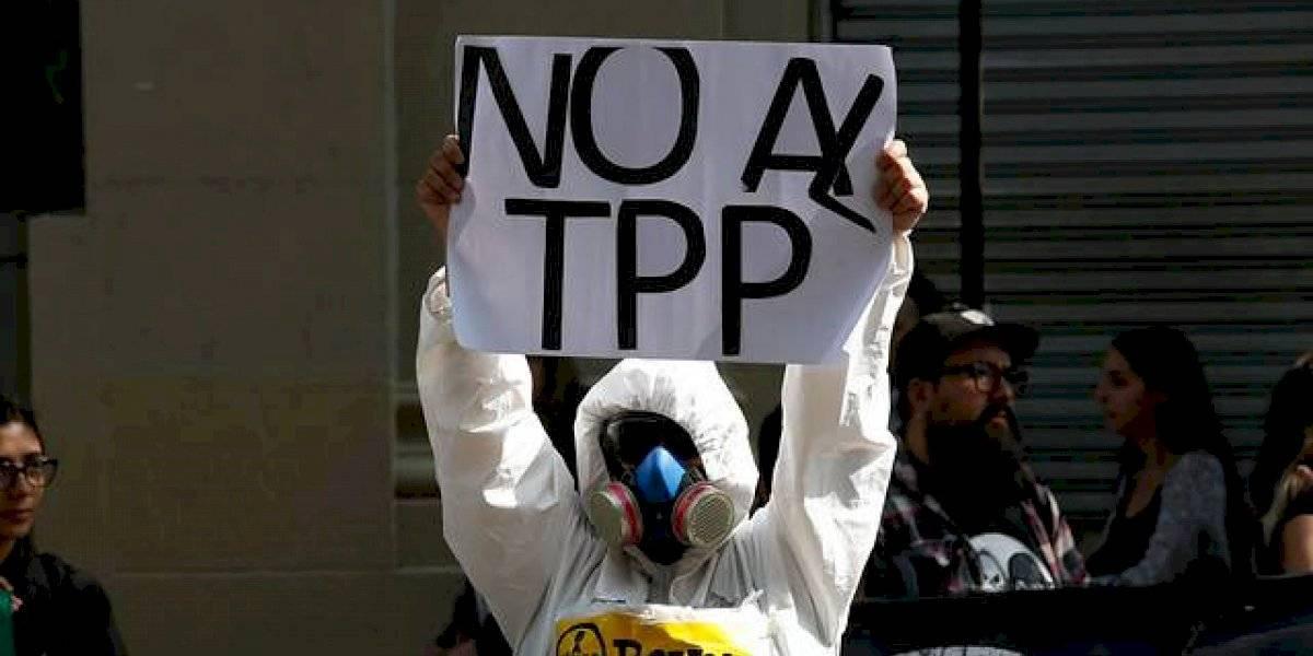 Protesta contra el TPP11: dirigente de Cañete lleva 10 días en huelga total de hambre para que el tratado no se apruebe