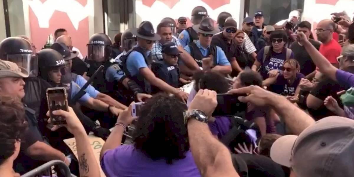 Tribunal Federal niega moción de la ACLU sobre policías correccionales en protestas