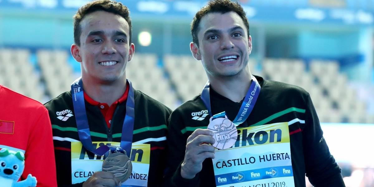 Mexicanos ganan medalla de bronce en Mundial de natación