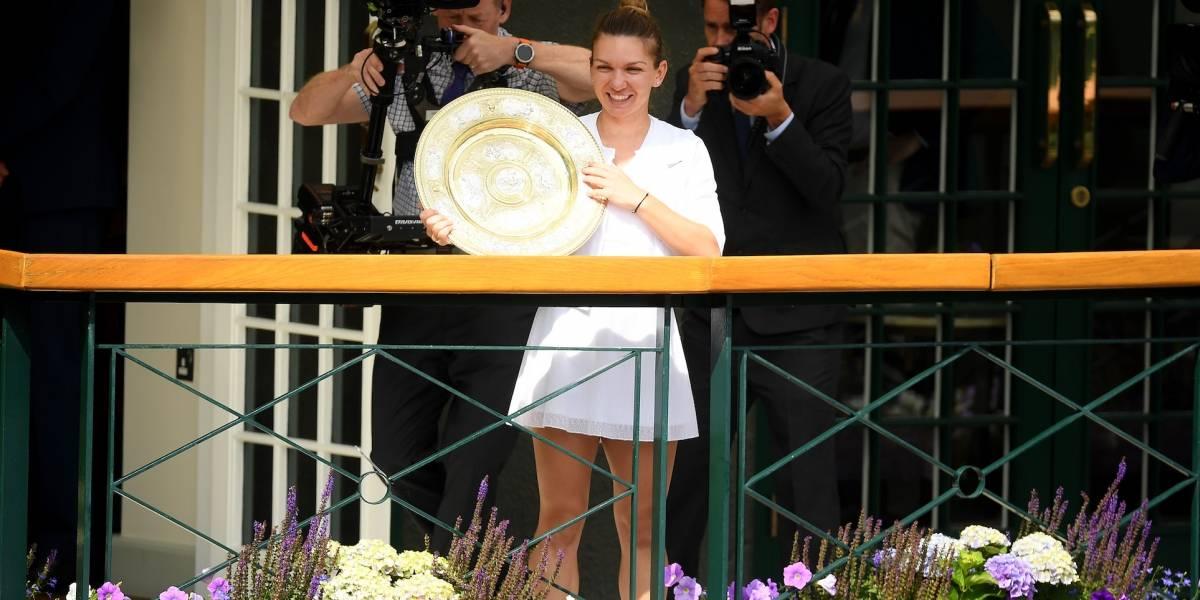 Simona Halep da la sorpresa y vence a Serena en la final de Wimbledon