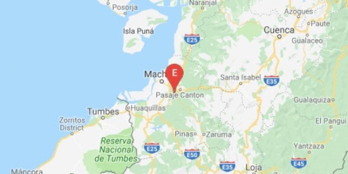 Se registra sismo en El Oro y cerca de Galápagos