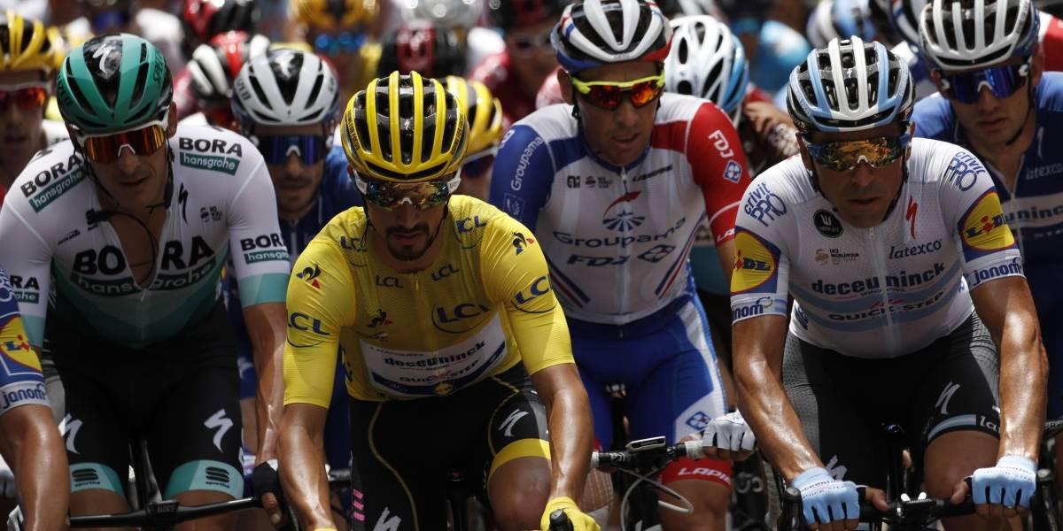 Entre una fuga furiosa y un pelotón relajado se disputó la etapa 9 del Tour de Francia