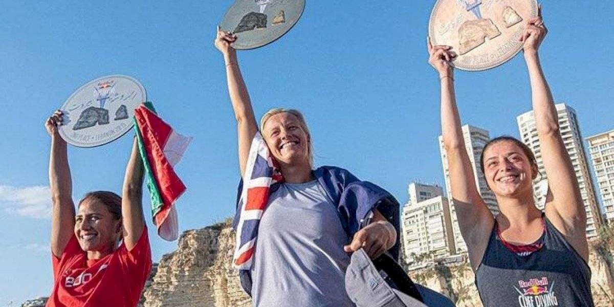 Adriana Jiménez se queda con la plata en Serie Mundial de Clavados de Altura