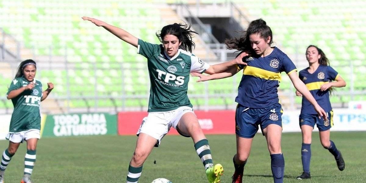Everton venció a Santiago Wanderers y se quedó con el Clásico Porteño del fútbol femenino