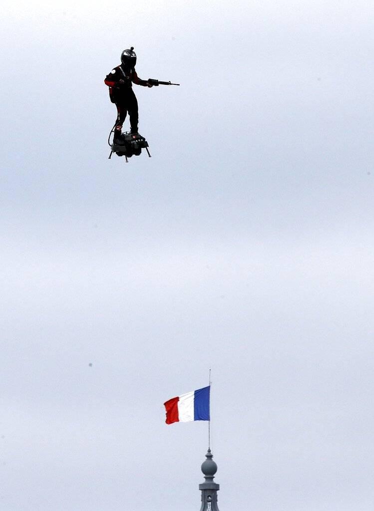 Día de la Bastilla en Francia Foto: AP