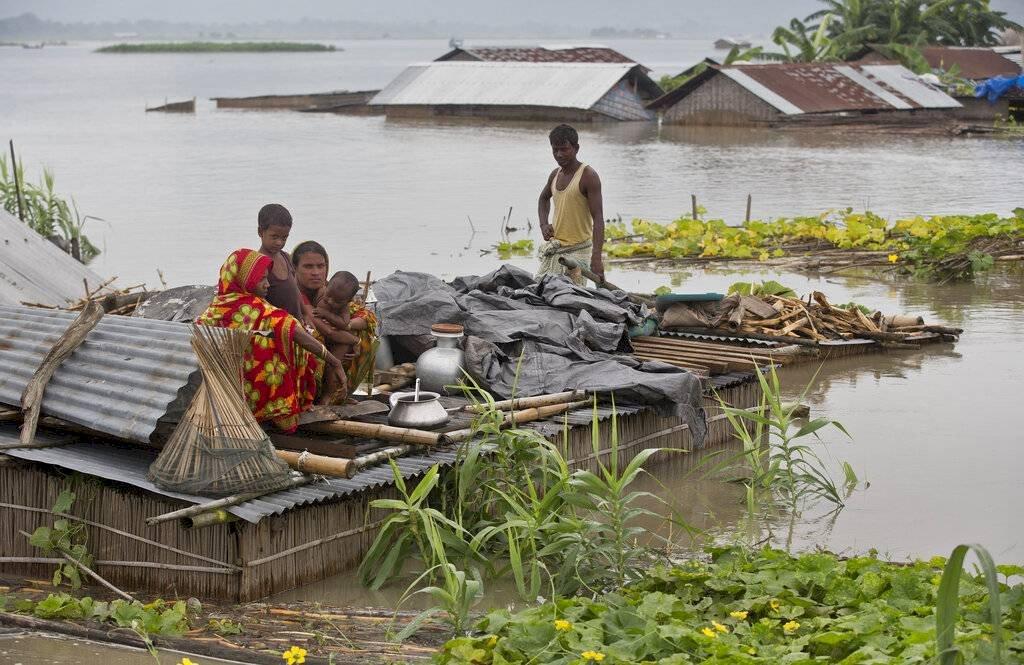 Aludes e inundaciones en Asia han dejado decenas de muertos Foto: AP