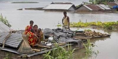 Inundaciones Asia