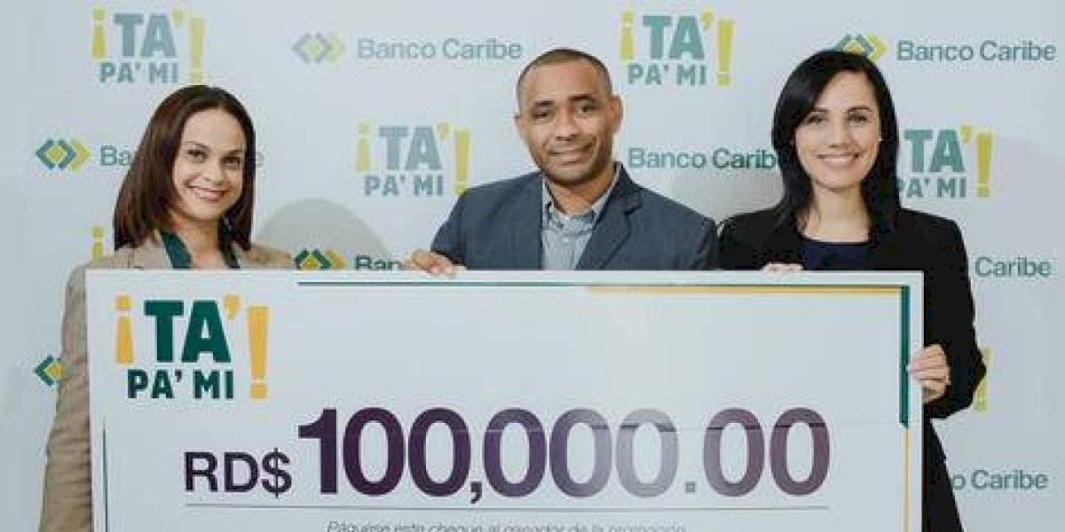 #TeVimosEn: Banco Caribe premia ganadores de promoción Ta' Pa' Mi'