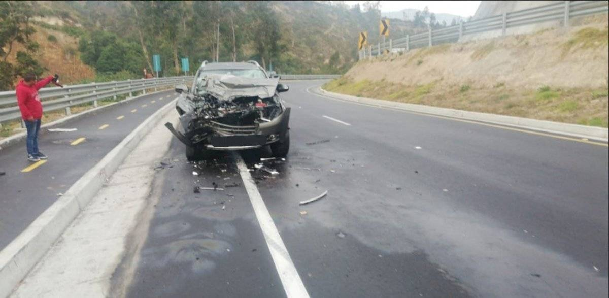 Accidente de tránsito en Quito AMT